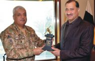 Jansher calls on Corps Commander Lahore