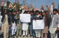 Protesters urge authorities to initiate inquiry against illegal appointments in Rescue 1122 Peshawar