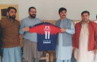 Peshawar Football League to promote healthy activities among youth: Deputy Speaker KP Mahmood Jan